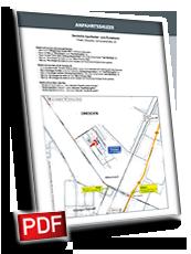 Anfahrtsskizze individuell erstellen, Lageplan erstellen, Wegeskizze erstellen, Wegbeschreibung erstellen, Anfahrtsplan erstellen