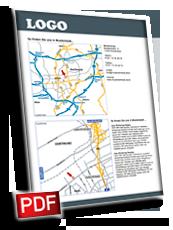 Anfahrtsskizze erstellen, Anfahrtsskizzen erstellen, Anfahrtskizze erstellen, Wegbeschreibung erstellen, Anfahrtsplan erstellen, Anfahrtskizze, Anfahrtsbeschreibung erstellen, Lageplan erstellen